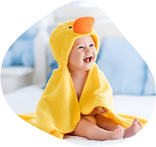 Usmievajúce sa dieťa