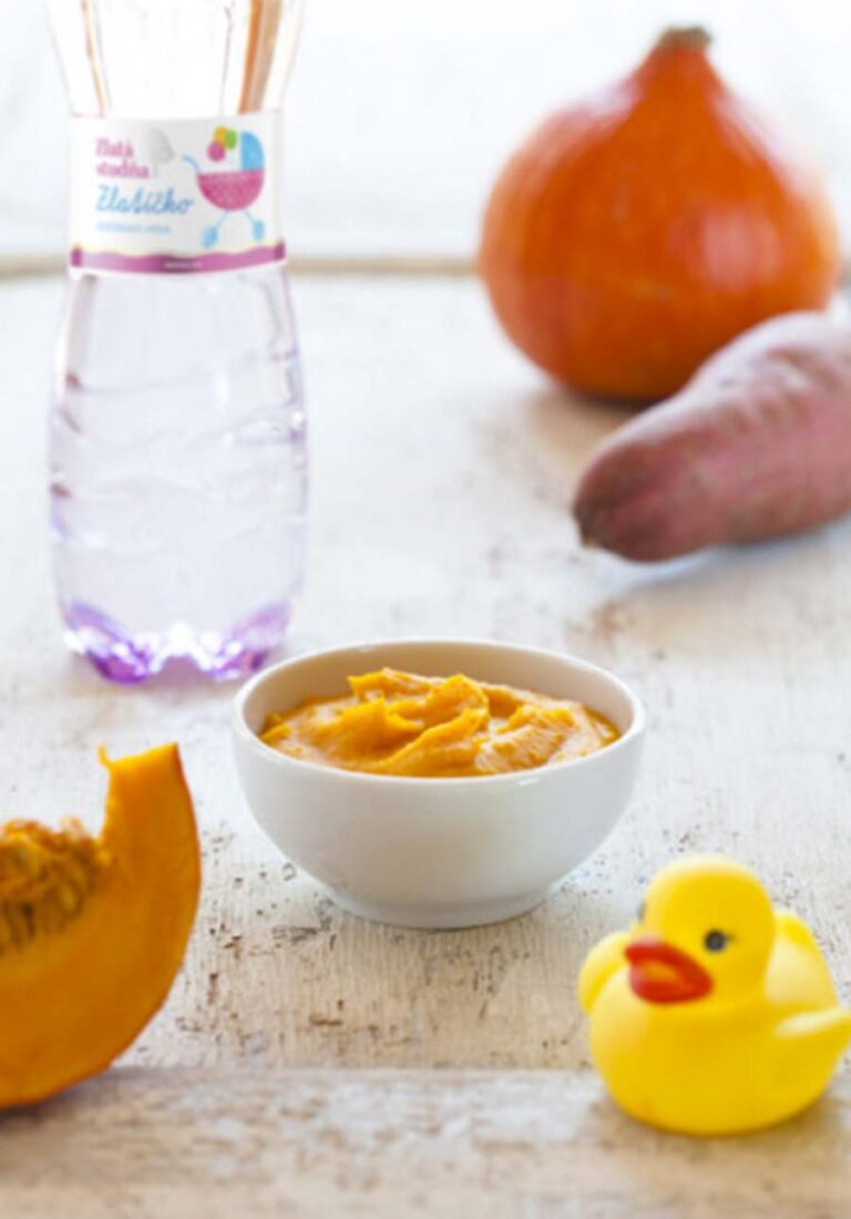 Recept na Hokaido tekvicovú kašičku pre deti