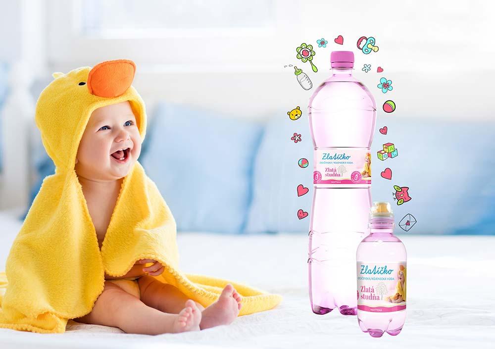 Dieťa so Zlatíčkom - dojčenská voda